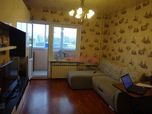 1-комнатная квартира (45м2) на продажу по адресу Шушары пос., Центральная ул., 14— фото 3 из 18