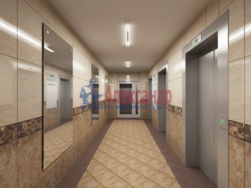 1-комнатная квартира (39м2) на продажу по адресу Бугры пос., Школьная ул., 11— фото 2 из 16