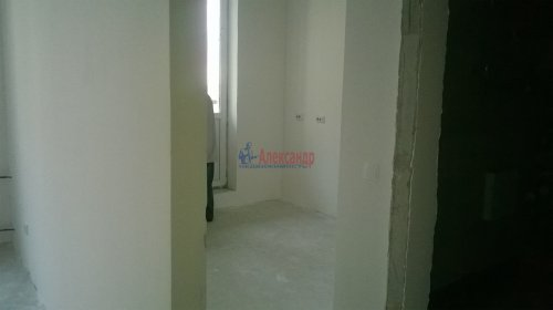 1-комнатная квартира (32м2) на продажу по адресу Мурино пос., Охтинская аллея, 4— фото 1 из 4