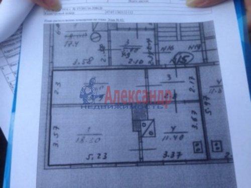 2-комнатная квартира (49м2) на продажу по адресу Всеволожск г., Лесная ул., 1— фото 3 из 8