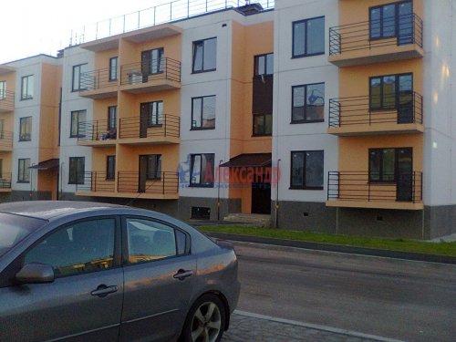 1-комнатная квартира (38м2) на продажу по адресу Вартемяги дер., Ветеранов ул., 13— фото 4 из 4