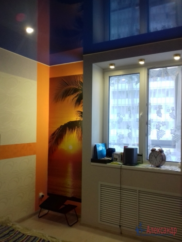 1-комнатная квартира (38м2) на продажу по адресу Мурино пос., Охтинская аллея, 6— фото 5 из 6
