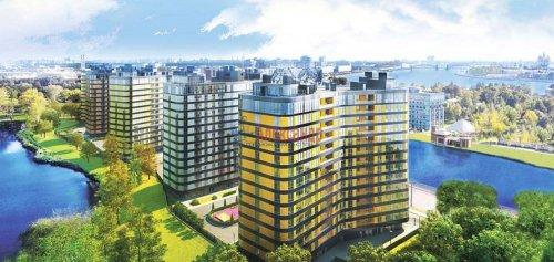 3-комнатная квартира (117м2) на продажу по адресу Жукова ул., 1— фото 1 из 3