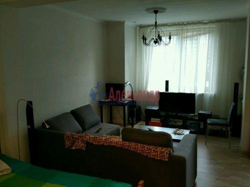1-комнатная квартира (45м2) на продажу по адресу Морская наб., 37— фото 1 из 13