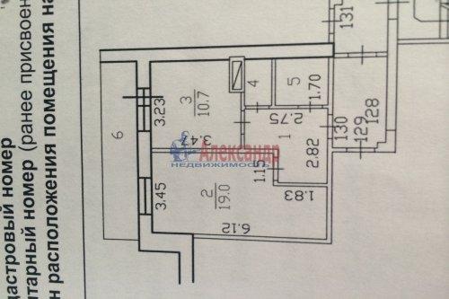 1-комнатная квартира (41м2) на продажу по адресу Старая дер., Верхняя ул., 5— фото 10 из 10