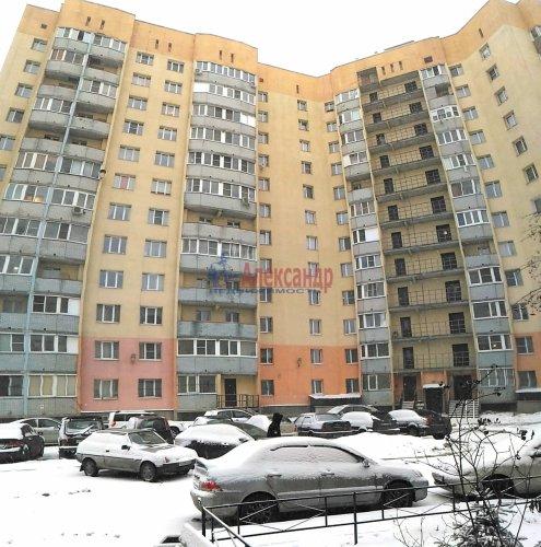 1-комнатная квартира (32м2) на продажу по адресу Мурино пос., Оборонная ул., 2— фото 5 из 19