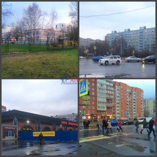 Комната в 3-комнатной квартире (62м2) на продажу по адресу Искровский пр., 17— фото 6 из 7