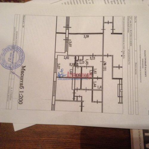 1-комнатная квартира (40м2) на продажу по адресу Гатчина г., Красных Военлетов ул., 9— фото 4 из 5