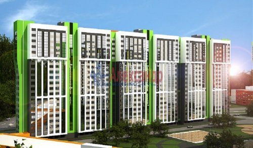 1-комнатная квартира (34м2) на продажу по адресу Парашютная ул.— фото 2 из 6