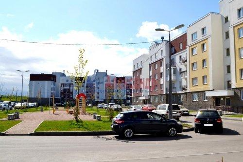 2-комнатная квартира (58м2) на продажу по адресу Юнтоловский пр., 47— фото 3 из 15
