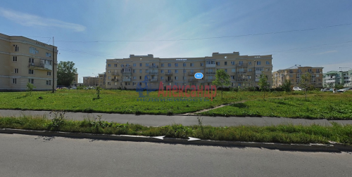 2-комнатная квартира (53м2) на продажу по адресу Пушкин г., Гусарская ул., 8— фото 1 из 7