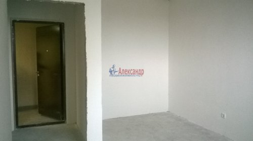 1-комнатная квартира (32м2) на продажу по адресу Мурино пос., Охтинская аллея, 4— фото 2 из 4