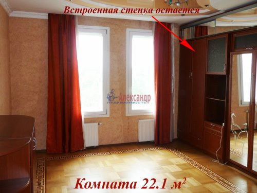 3-комнатная квартира (140м2) на продажу по адресу Приморский пр., 59— фото 19 из 35