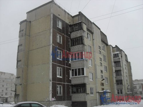 2-комнатная квартира (62м2) на продажу по адресу Волхов г., Воронежская ул., 9— фото 1 из 1