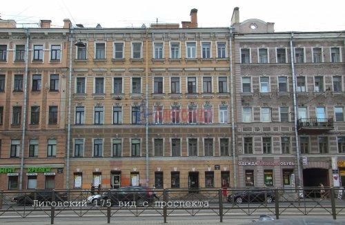 1-комнатная квартира (50м2) на продажу по адресу Лиговский пр., 175— фото 1 из 12