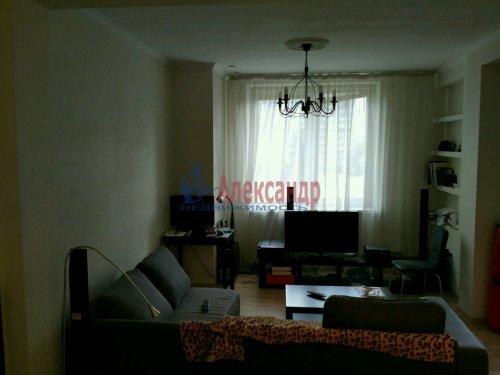 1-комнатная квартира (45м2) на продажу по адресу Морская наб., 37— фото 2 из 13