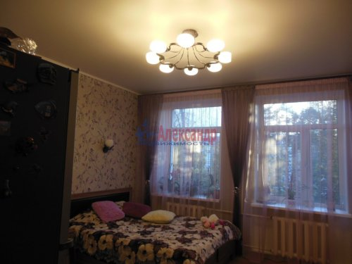 Комната в 4-комнатной квартире (108м2) на продажу по адресу Сертолово г., Ларина ул., 6— фото 3 из 4