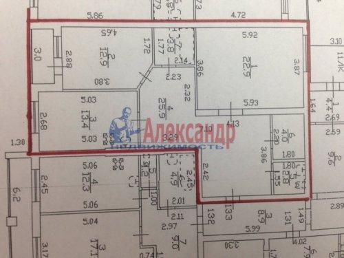 2-комнатная квартира (86м2) на продажу по адресу Сестрорецк г., Николая Соколова ул., 31-А— фото 3 из 13