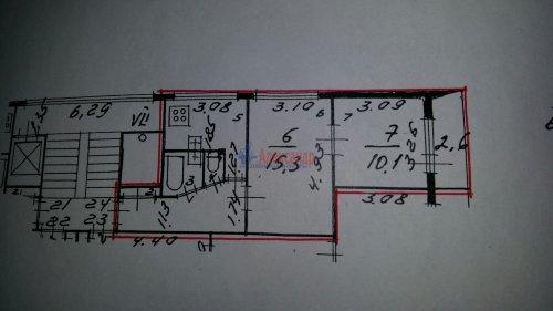 2-комнатная квартира (43м2) на продажу по адресу Тельмана ул., 32— фото 7 из 7