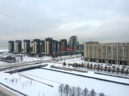2-комнатная квартира (48м2) на продажу по адресу Новосмоленская наб., 8— фото 1 из 12