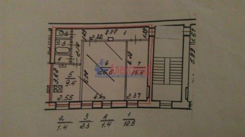 2-комнатная квартира (69м2) на продажу по адресу Реки Фонтанки наб., 150— фото 10 из 11