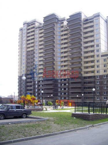 1-комнатная квартира (38м2) на продажу по адресу Бугры пос., Школьная ул., 11— фото 1 из 7