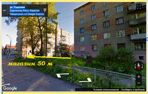 3-комнатная квартира (59м2) на продажу по адресу Сортавала г., Садовая ул., 17— фото 1 из 6