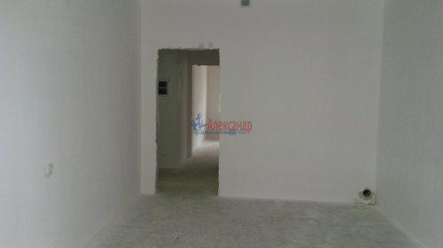 1-комнатная квартира (38м2) на продажу по адресу Кудрово дер., Пражская ул., 9— фото 4 из 17