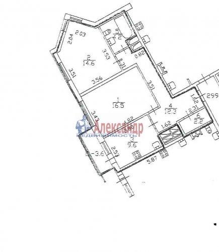 2-комнатная квартира (60м2) на продажу по адресу Мебельная ул., 21— фото 1 из 7