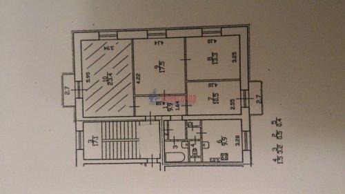 Комната в 4-комнатной квартире (90м2) на продажу по адресу Сестрорецкая ул., 1— фото 9 из 9