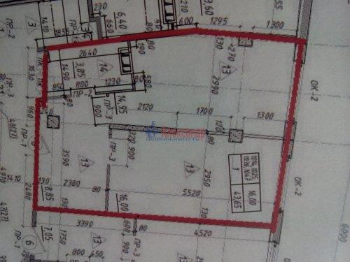 1-комнатная квартира (44м2) на продажу по адресу Мурино пос., Шоссе в Лаврики ул., 69— фото 3 из 3