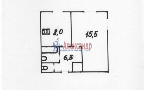 1-комнатная квартира (31м2) на продажу по адресу Орджоникидзе ул., 31— фото 1 из 1