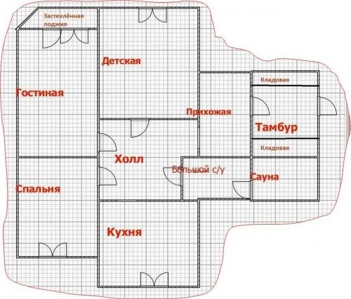 3-комнатная квартира (120м2) на продажу по адресу Фаворского ул., 15— фото 15 из 15
