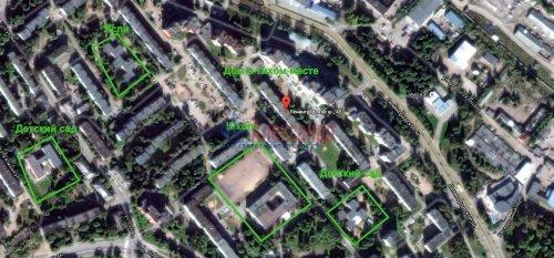 3-комнатная квартира (61м2) на продажу по адресу Выборг г., Ленинградское шос., 45— фото 12 из 12