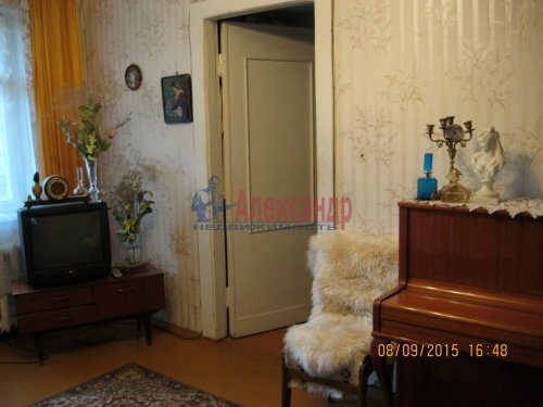 2-комнатная квартира (46м2) на продажу по адресу Гатчина г., Володарского ул., 28— фото 4 из 6