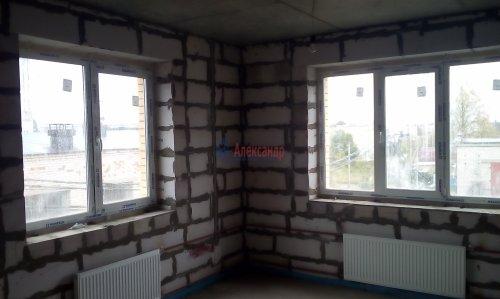 2-комнатная квартира (64м2) на продажу по адресу Лесколово пос., Красноборская ул., 4В— фото 11 из 23