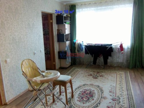 3-комнатная квартира (50м2) на продажу по адресу Выборг г., Приморская ул., 23— фото 2 из 10