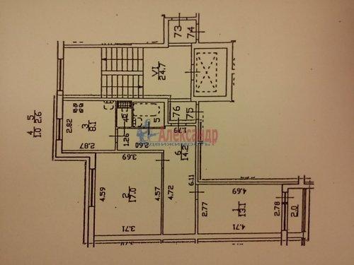 2-комнатная квартира (56м2) на продажу по адресу Красное Село г., Спирина ул., 7— фото 1 из 21