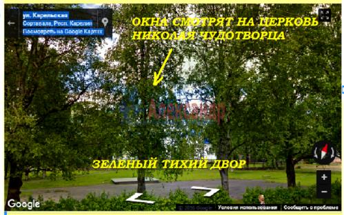 3-комнатная квартира (59м2) на продажу по адресу Сортавала г., Садовая ул., 17— фото 3 из 6