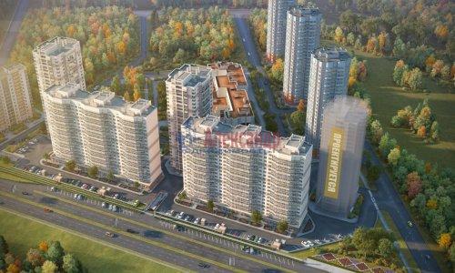 1-комнатная квартира (36м2) на продажу по адресу Парголово пос., Заречная ул., 6— фото 1 из 2