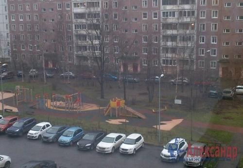 1-комнатная квартира (40м2) на продажу по адресу Авиаконструкторов пр., 20— фото 1 из 6