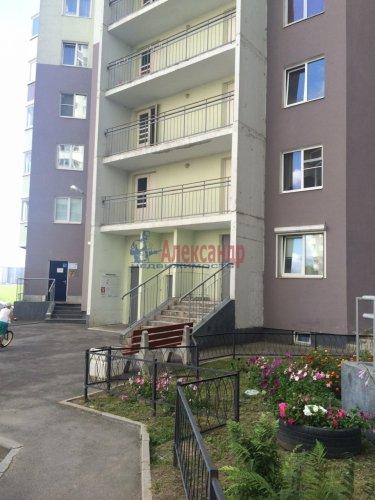 1-комнатная квартира (51м2) на продажу по адресу Бугры пос., Полевая ул., 16— фото 3 из 14