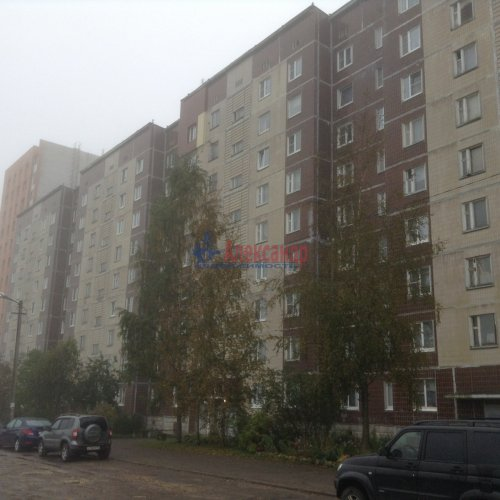 1-комнатная квартира (40м2) на продажу по адресу Гатчина г., Красных Военлетов ул., 9— фото 5 из 5