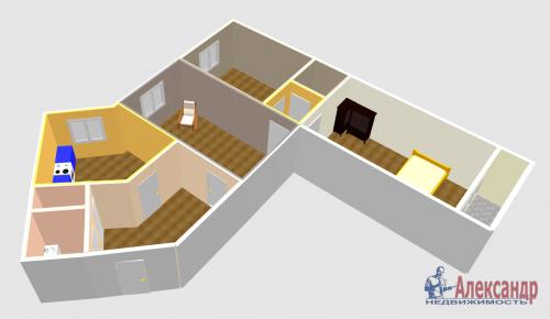 3-комнатная квартира (100м2) на продажу по адресу Ново-Александровская ул., 14— фото 28 из 31