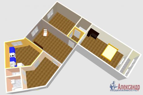 3-комнатная квартира (100м2) на продажу по адресу Ново-Александровская ул., 14— фото 30 из 31
