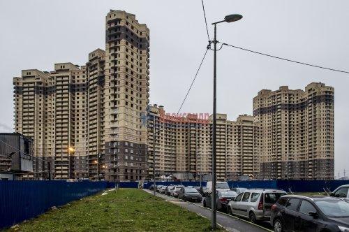 1-комнатная квартира (34м2) на продажу по адресу Парголово пос., Федора Абрамова ул., 19— фото 2 из 3