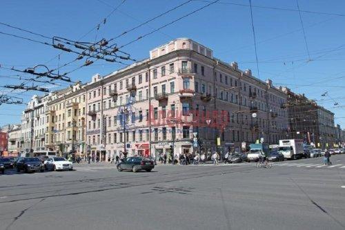 3-комнатная квартира (59м2) на продажу по адресу Невский пр., 74— фото 1 из 10