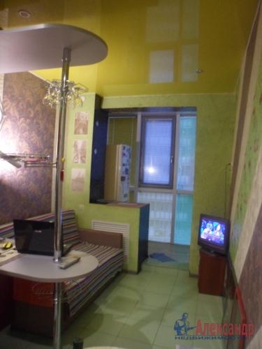 1-комнатная квартира (38м2) на продажу по адресу Мурино пос., Охтинская аллея, 6— фото 3 из 6