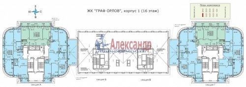 4-комнатная квартира (156м2) на продажу по адресу Варшавская ул., 66— фото 2 из 25