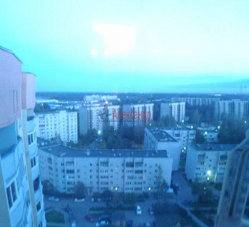 1-комнатная квартира (40м2) на продажу по адресу Мурино пос., Оборонная ул., 2— фото 15 из 21
